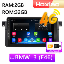 Radio multimedia con GPS para coche, radio con reproductor, Android 8.1, navegador, 2 Din, para BMW E46/M3/318i/320i/325i/330/335 1998-2006