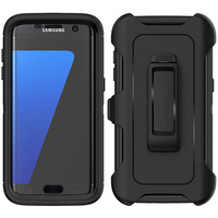 Funda armadura para Samsung Galaxy S20 S21 Ultra S8 S9 S10 plus S7 edge S10E Note 10 8 9, funda protectora a prueba de golpes
