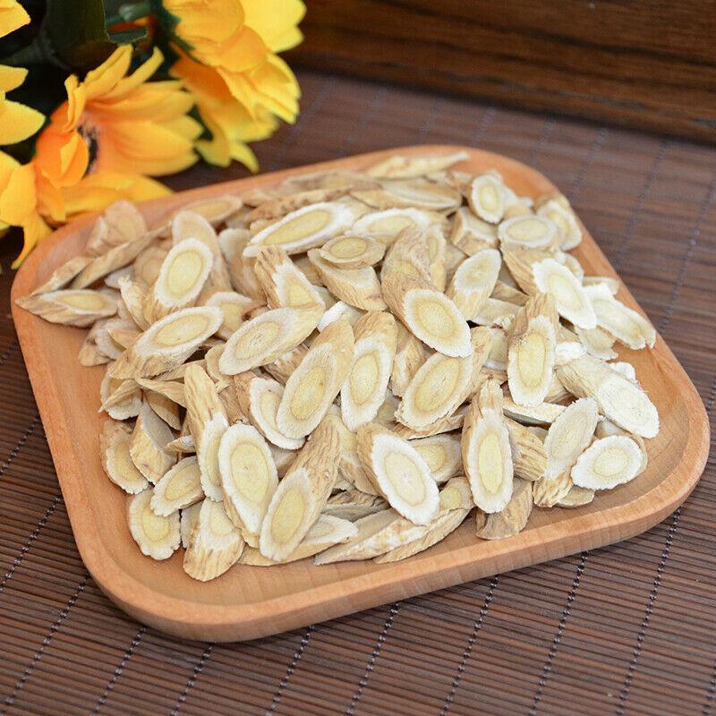 Chinese Huang Qi Astragalus Root Slice Wild China Yellow Herbal Health Tea 500g
