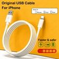 Оригинальный usb-кабель Apple для Apple iPhone, кабель 11 12 Pro Max Xs Xr X SE 8 7 6 6s Plus ipad air Mini 4, кабель для быстрой зарядки iPhone, зарядное устройство