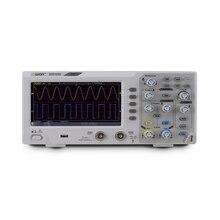 Owon SDS1202 Oscilloscopio a memoria Digitale 2 Canali 200Mhz di larghezza di Banda 7 Display LCD Portatile Portatile USB Oscilloscopi