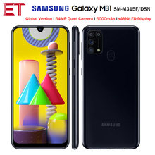 "Samsung Galaxy M31 M315F/DSN Handy 6GB 128GB OctaCore 6.4 ""1080x2340P 6000mAh 48MP NFC Android10 Smartphone Globale Version(China)"