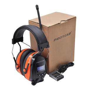 Image 5 - Protear DAB+/DAB Radio Hearing Protector 25dB 1200mAh Lithium Battery Earmuffs Electronic Bluetooth Headphone Ear Protection