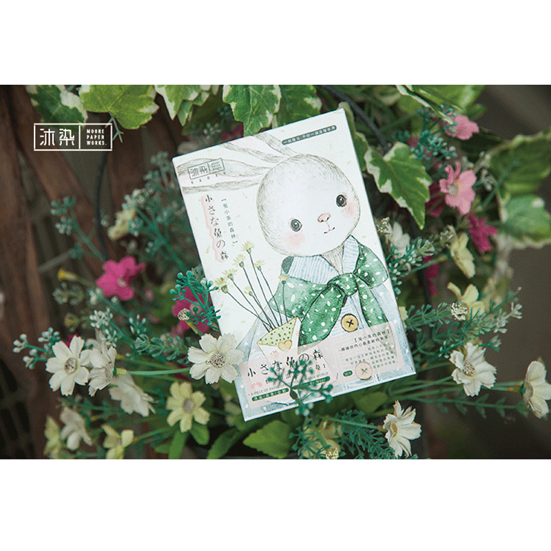 30 Pcs/lot Kawaii Rabbit Forest Postcard Greeting Card Creative  Birthday Christmas And New Year DIY Gifts Card