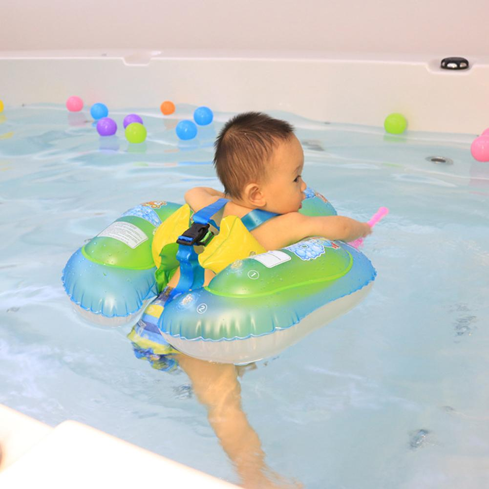 Environmentally Friendly PVC Cartoon Baby Swimming Ring Anti Rollover Portable  & Heat Resistant  Pool Float Swim Protector