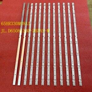 Image 5 - 6 قطعة/المجموعة LED الخلفية قطاع لتوشيبا 65P65US TCL 65S421 65HR330M08A1 4C LB6508 HR01J PF01J JL.D65081330 365AS M