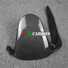 For Ducati Monster 797 Full Carbon Fiber Motorcycle Accessories Rear Hugger radiator cover for ducati monster 696 795 796 full carbon fiber 100% twill