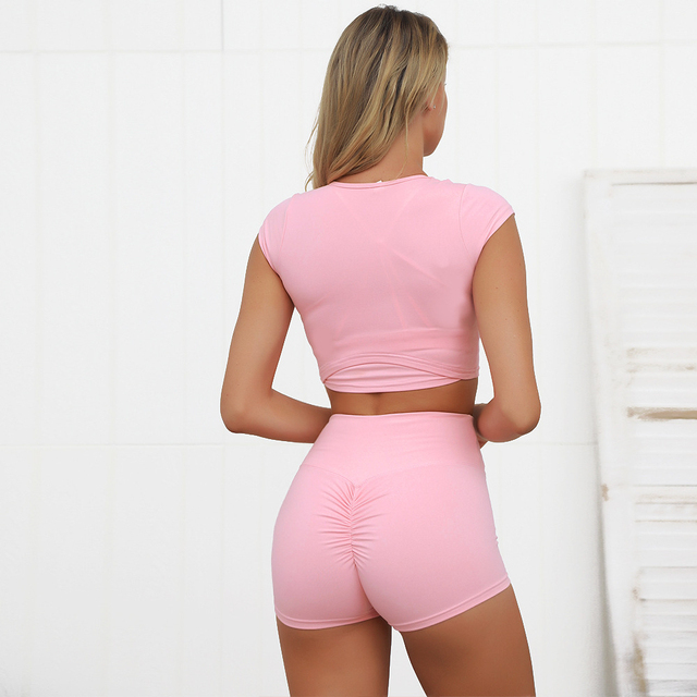 Yoga Set Women Tracksuit Workout Clothes For Women Sport Suit Gym Clothing 2 Piece Gym Set Sports Wear For Women Sport Costume