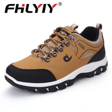 Fhlyiy 2020 Men Leather Shoes Outdoor Casual Shoes