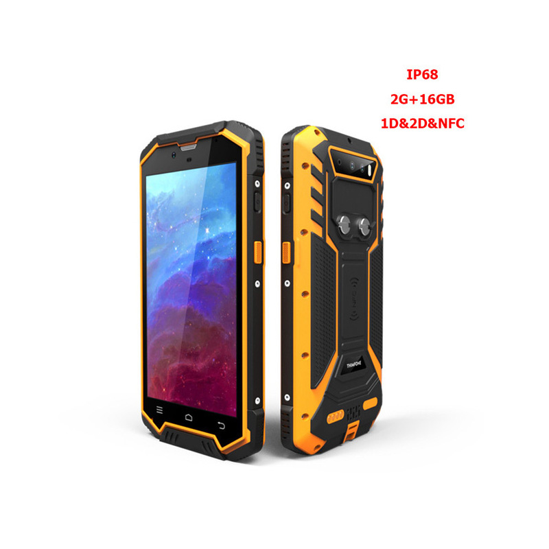 S2 Plus High quality Factory IP68 PDA Bluetooth Android Handheld 1D 2D Qr code Barcode Scanner NFC Reader For Logistics