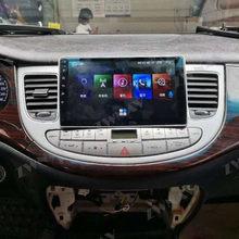 Z systemem Android 10 PX6 128G GPS samochód z nawigacją Radio odtwarzacz dla Hyundai Genesis 2008 - 2012 jednostka główna multimedialne Stereo Audio ekran IPS