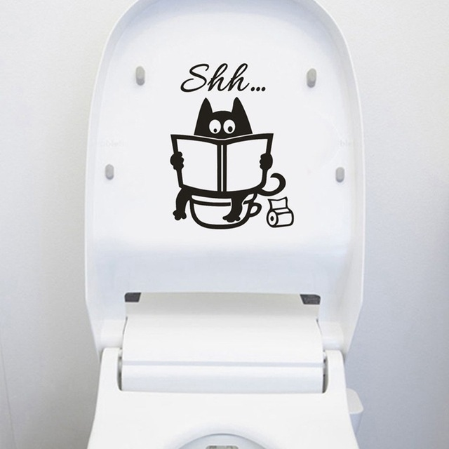 Creative Toilet Wall Sticker 4