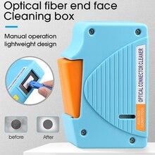 AUA 550 موصل الألياف البصرية الأنظف/الألياف Conector تنظيف كاسيت ، 500 مرات كاسيت الأنظف صندوق تنظيف الألياف البصرية