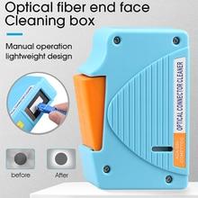 AUA 550 conector de fibra óptica líquido de limpeza/gaveta da limpeza do conector da fibra, 500 vezes caixa da limpeza da fibra ótica do líquido de limpeza da gaveta