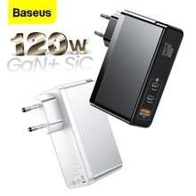 Baseus – chargeur GaN SiC USB 120W PD type-c, Charge rapide 4.0 QC3.0, pour iPhone 12 Xiaomi Macbook