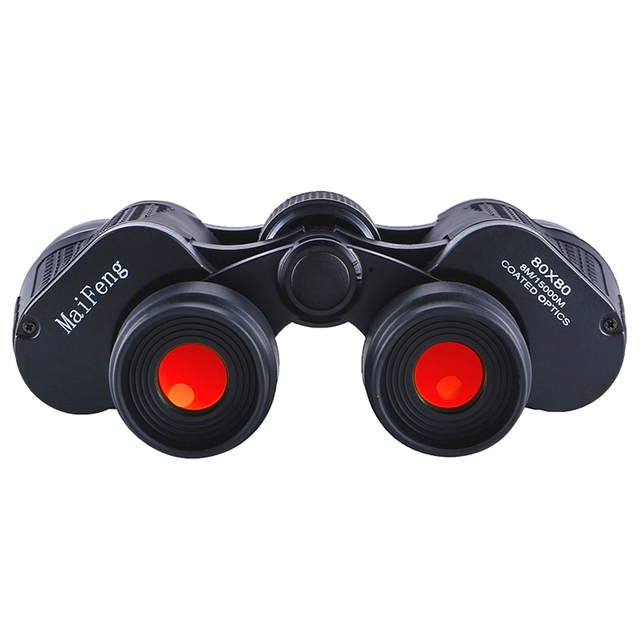 High Power HD Professional Binoculars 80x80 10000M Hunting Telescope Optical LLL Night Vision for Hiking Travel High Clarity 4
