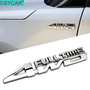 DSYCAR 1 шт. Модный 3D металлический 4WD автомобильный боковое крыло задний багажник эмблема значок наклейка для JEEP Dodge BMW Nissan Audi VW Honda