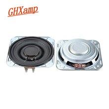 GHXAMP 3 inç 3OHM 20W Woofer tam aralıklı orta kademe hoparlör düşük frekanslı kağıt tencere neodimyum ses bobini büyük inme