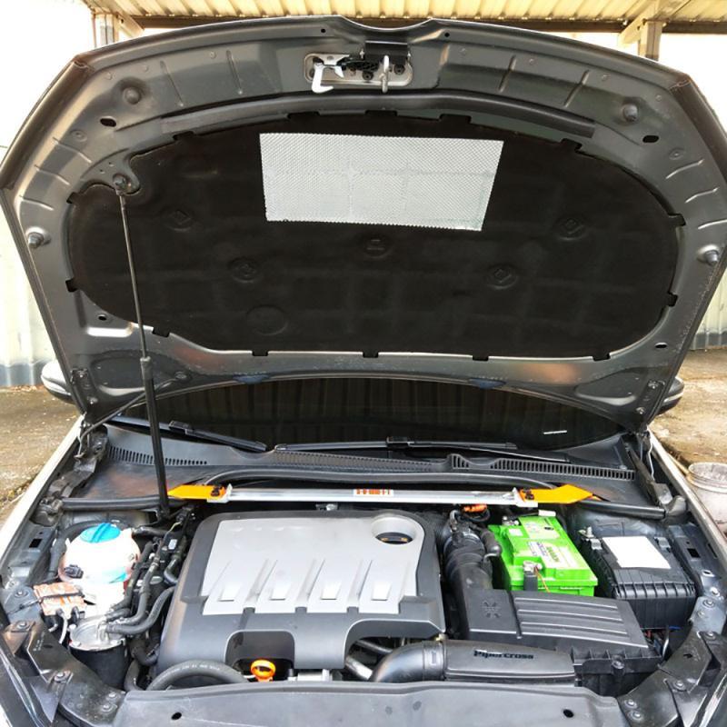 Capa do carro do motor isolamento acústico almofada de algodão capa térmica isolamento térmico almofada para volkswagen golf 6 gti