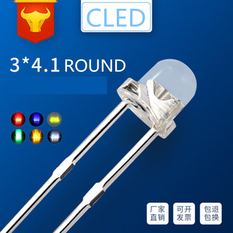FREE SHIPPING 15 x LED 3mm Red Water Clear Ultra Bright