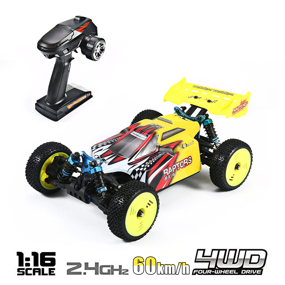 RC Car High Speed 60KM/H 1:16 Racing Climbing Car 2.4G Remote Control Toy Cars On The Radio Controlled 4x4 Drive Off Road Toys - 2
