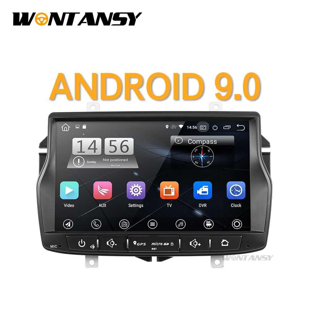 Android 9.0 PX30 samochodowy odtwarzacz dvd dla Lada Vesta z Wifi radiowa nawigacja gps wideo samochodowe stereo odtwarzacz multimedialny ekran IPS