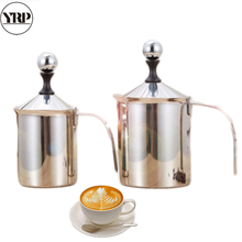 Foam-Maker Milk-Pot Barista Coffee Kitchen-Tools Stainless-Steel Double-Mesh