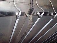 High density output power glass infrared oven 1KW halogen heater lamp Peças p/ aquecedor elétrico     -