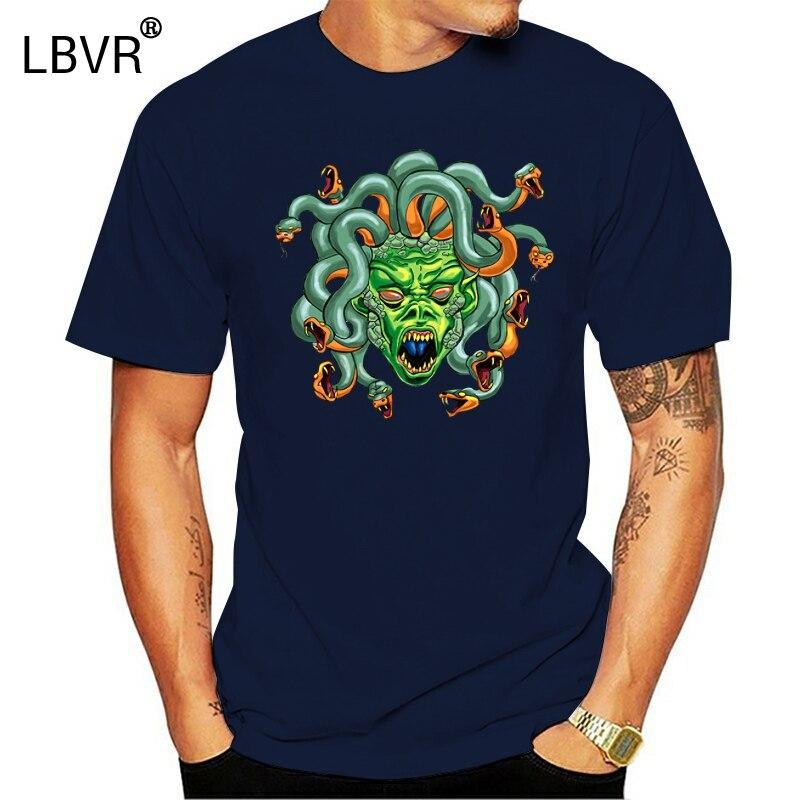 남자 메두사 헤드 t 셔츠 디자이너 100% 코튼 유로 사이즈 S-3xl 쿨 피트 빌딩 봄 글자 셔츠
