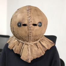 Trick 'r Treat 2 Sam Mask Cosplay Horror Ghost Latex Masks Halloween Party Costume Props 2020 r m stults smoky sam