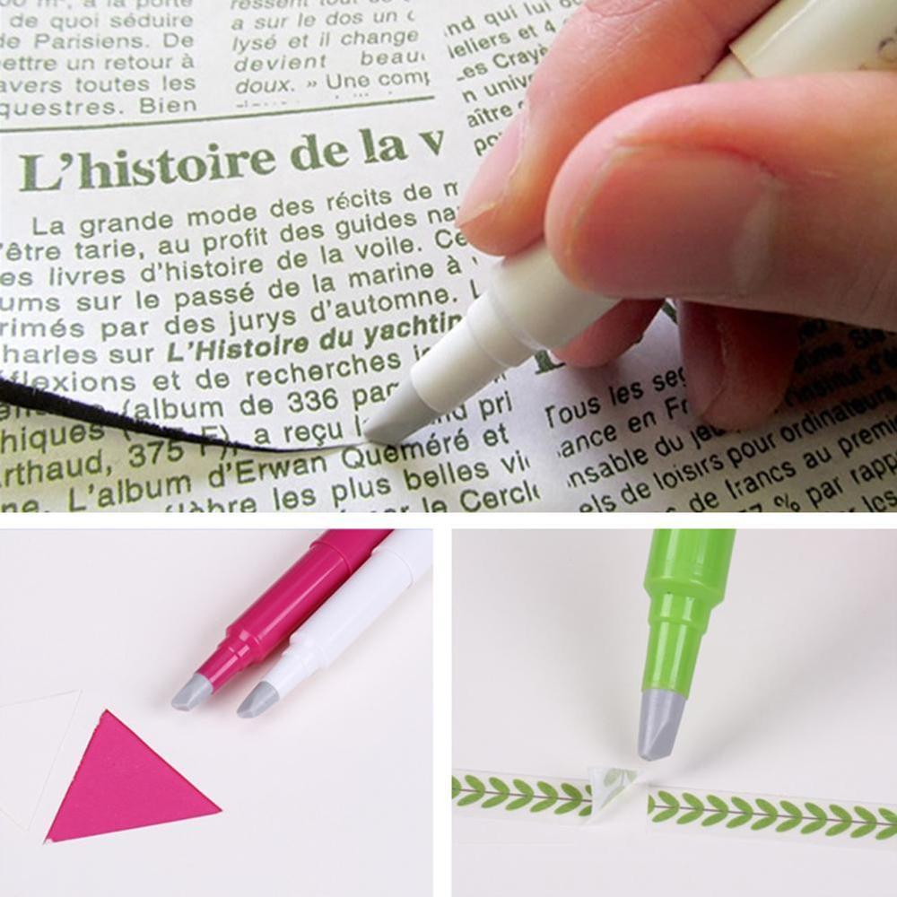 VIVIDCRAFT Japan Creative Paper Pen Knife Wear-Resisting Newspaper Hand Book Paper Tape Ceramic Blade Cutting Knives 13cm