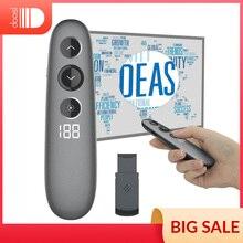 Spotlight Presentation Remote, Doosl presentador inalámbrico con aumento de resaltado Digital avanzado, soporte LED/LCD Universal