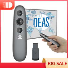 Télécommande de présentation de projecteur, présentateur sans fil Doosl avec agrandissement numérique avancé, Support LED/LCD universel