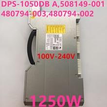 HP Z800 1250W 전원 공급 장치 용 새 PSU DPS 1050DB A 508149 001 480794 003 480794 002
