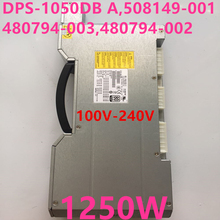 Nuovo ALIMENTATORE Per HP Z800 1250W di Potenza di Alimentazione DPS 1050DB A 508149 001 480794 003 480794 002