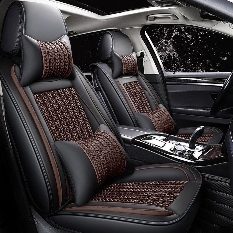 Housse de siège de voiture universelle pour BMW e30 e34 e36 e39 e46 e60 e90 f10 f30 x3 x5 x6 x1 Auto protection intérieure de voiture coussin de voiture