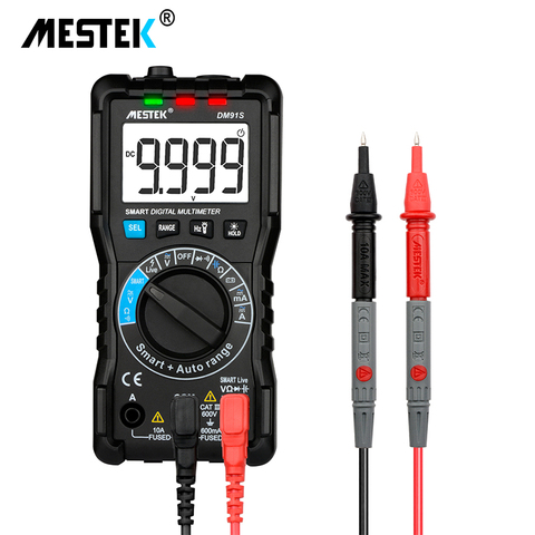 MESTEK Intelligent multimeter DM91A/DM91S multimeter 9999 counts smart auto range tester multimetre multi meter multitester Lahore
