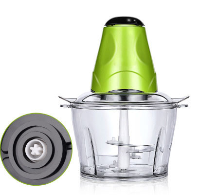 2L Automatic Powerful Electric Meat Grinder Multifunctional Food Processor Electric Chopper Meat Slicer Cutter Blender 3