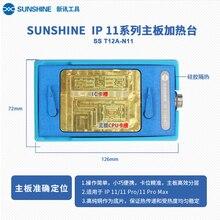 SS-T12A Für IPHONE X Layered Heizung Plattform für Alle-runde Motherboard X/XS/XSM/CPU/ F Ersatz konstante temperatur griff