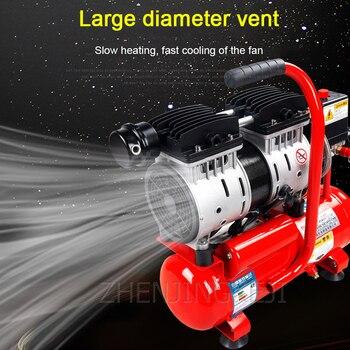 High Quality No Fuel Air Compressor 220V Small Woodworking Pump Tool Mute Profession Compression Machine