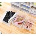 Пластиковый ящик типа чехол для хранения шкаф ящик для обуви и одежды коробка TUE88