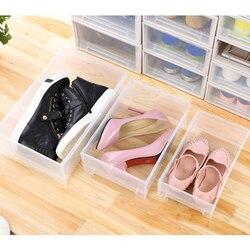 Plastikowy futerał do przechowywania szuflady szafka schowek na ubrania pudełko na ubrania pudełko na buty TUE88|Składane torby do przechowywania|   -