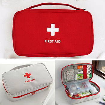 Portable Camping First Aid Kit Empty Emergency Medicine bag Outdoor Survival Travel set First Aid Bag Household Storage package survival red waterproof 2l first aid bag emergency kits empty travel dry bag rafting camping kayaking portable medical bag