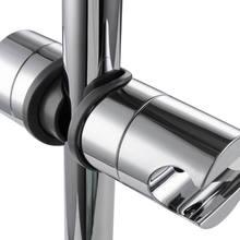 Ajustável chuveiro de mão trilho cabeça suporte para barra deslizante braçadeira do banheiro venda quente ajustável trilho deslizante