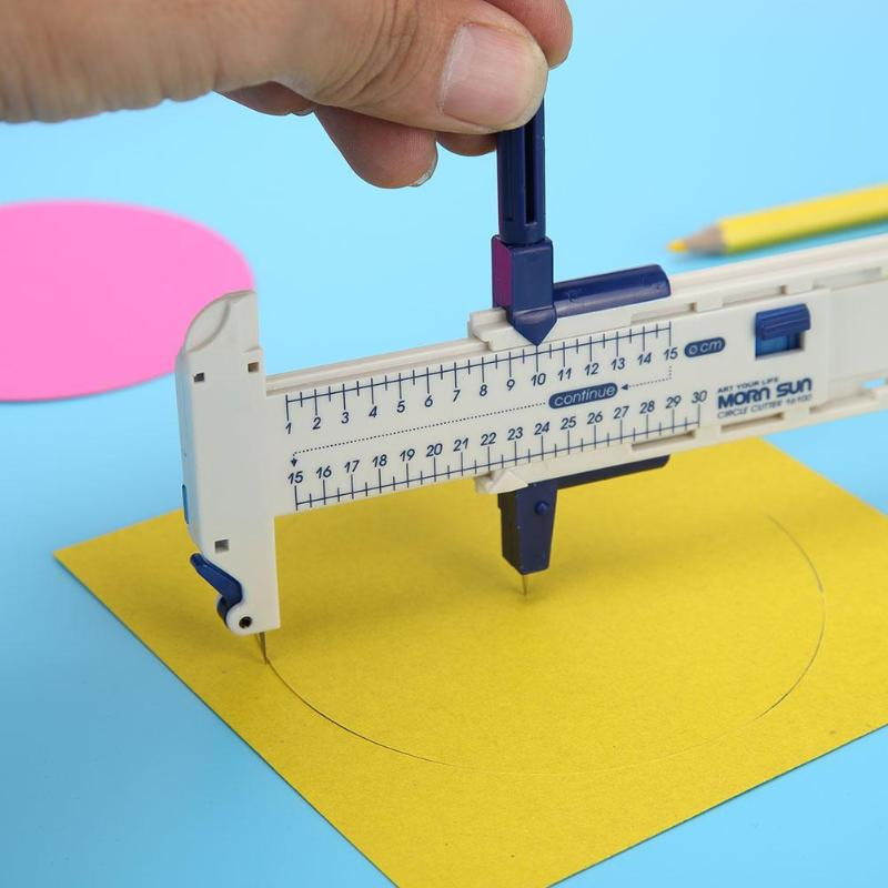 Compass Cutter Round Circle Knife Heat Shrink Film Cutting Patchwork Tool Circle Compass Film Paper Knife Cutter For Patchwork