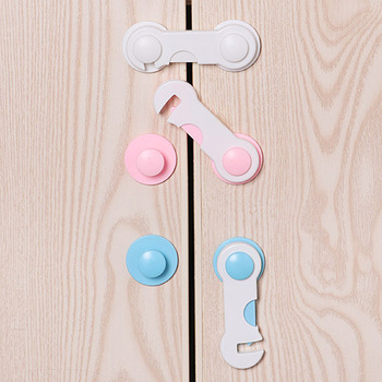 4pcs/lot Multi-function Child Baby Safety Lock Cupboard Cabinet Door Drawer Safety Locks Children Security Protector fa 92 baby infant child multi function rotatable drawer safety locks white