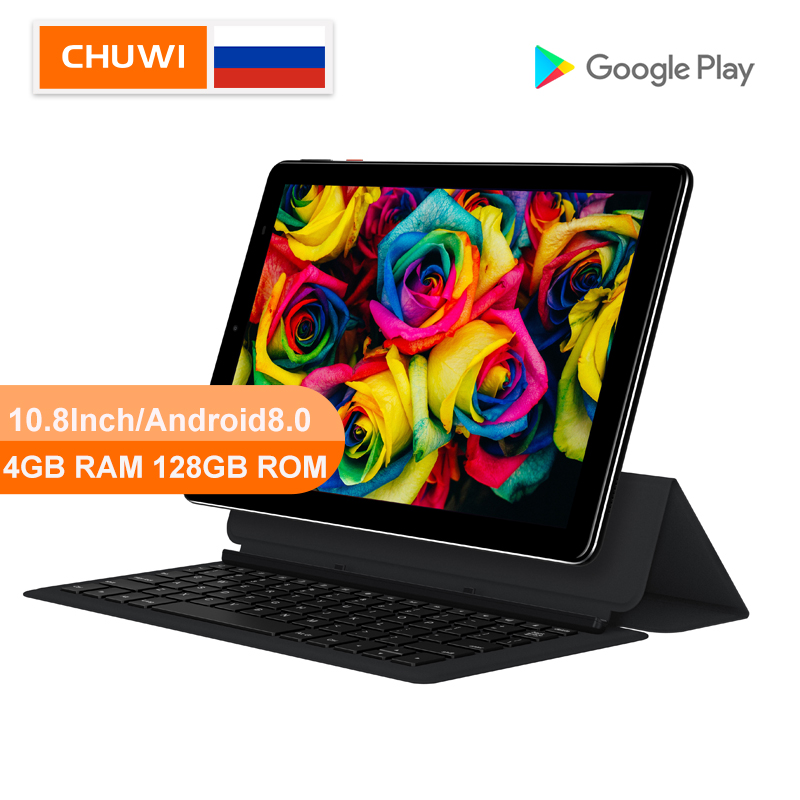 CHUWI Original Hi9 Plus 10.8 Inch Tablet PC MediaTek Helio X27 Deca Core Android 8.0 4GB RAM 128GB ROM 2K Screen Dual 4G Tablet