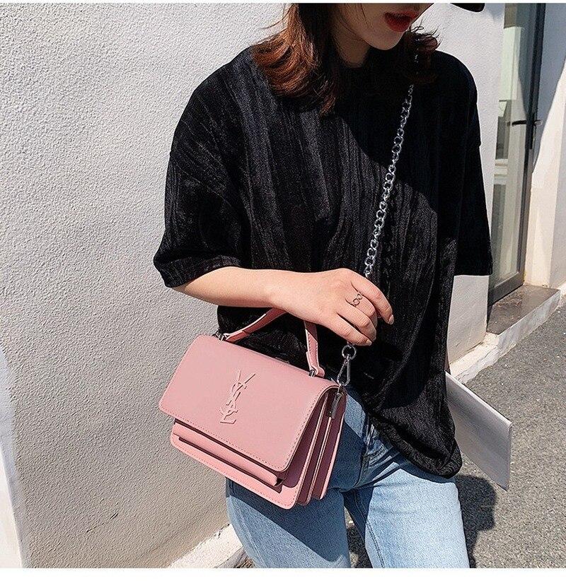 High-quality Korean Version Of The Shoulder Messenger Bag 2020 New Texture Foreign Chain Bag Handbag
