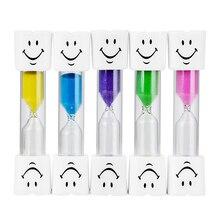 NICEYARD таймер для зубной щетки 3 минуты подарок для детские часы песочные часы для чистки зубов детей песочные часы со смайликом