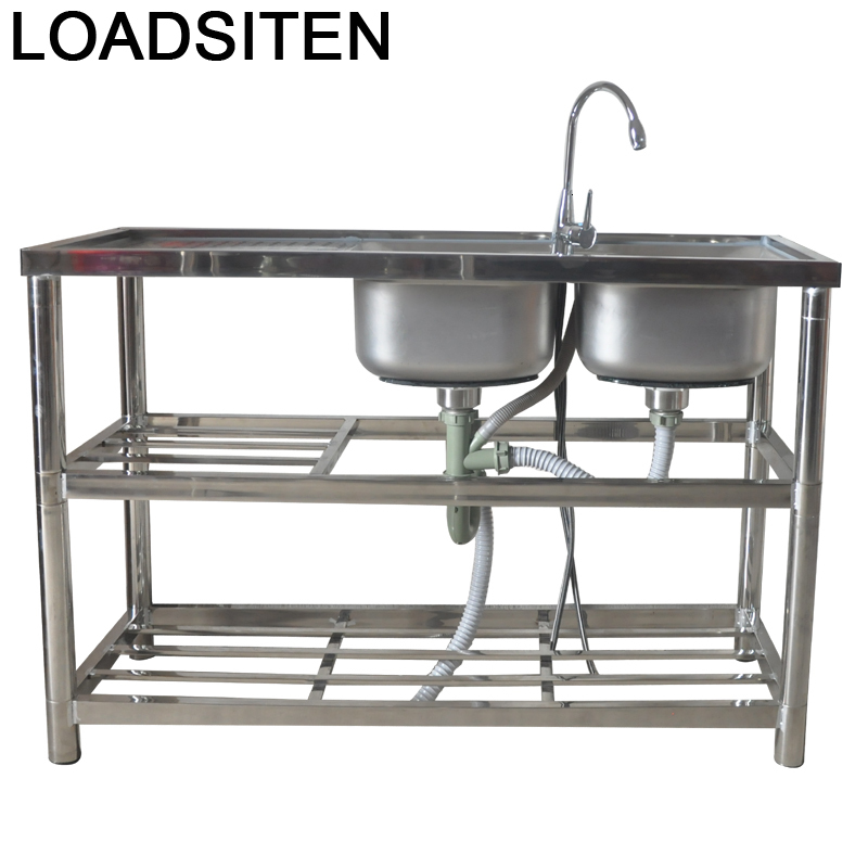 Tarjas gastronomique Portatil robinet Cuba Para Afwasbak Lavello Cucina cuisine De Cocina Fregadero Lavabo Pia Cozinha lave-vaisselle évier